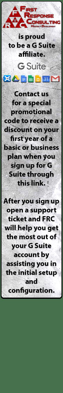 FRC G Suite Affiliate