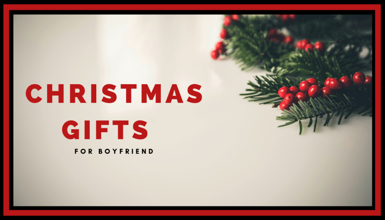 Christmas Gifts for Boyfriend
