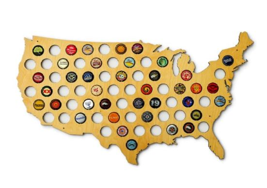 usa beer cap