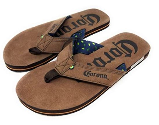 Beer thong sandals