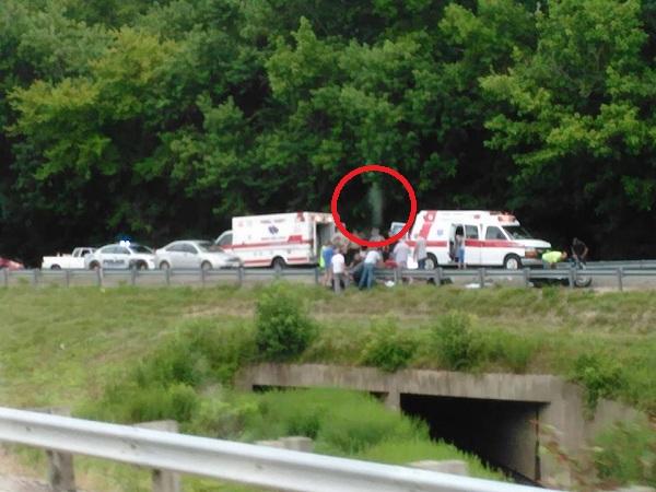 Kentucky roadside ghost zoom in