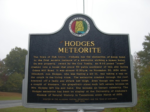 Alabama Ann Hodge sign