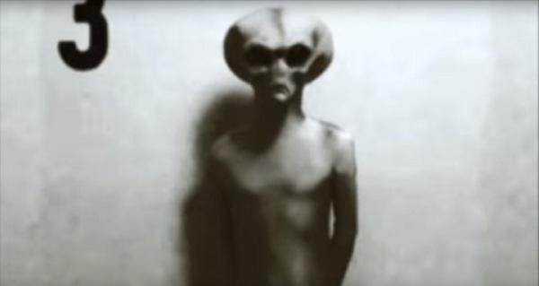 Grey alien at G13