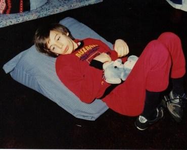 Martin as a boy