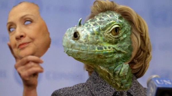 hillary-as-lizard