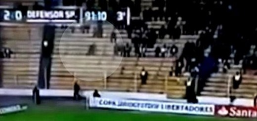 Ghost caught on video at soccer game