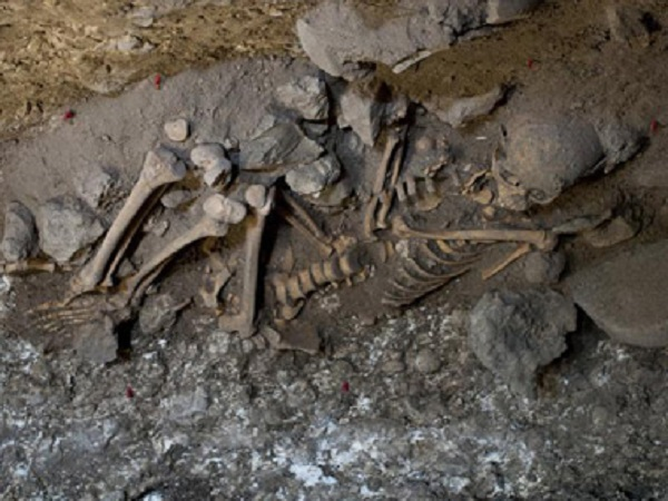 Naia skeleton found