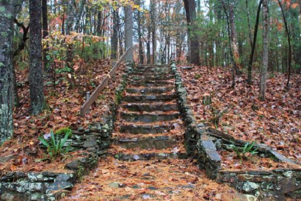 fairy-stone-state-park path