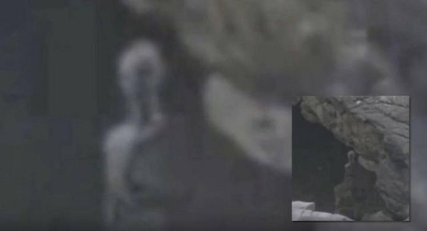 Woman records alien in the Andes Mountains of Peru
