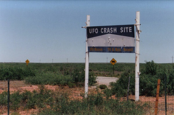 Roswell UFO crash site