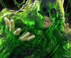 Ooze blob monster