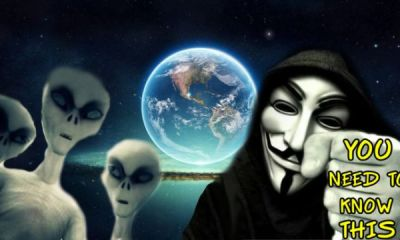 Anonymous aliens in Antarctica