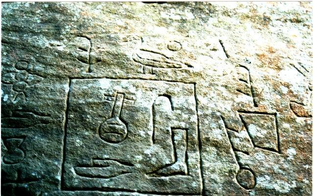 Australia find Egyptian carvings