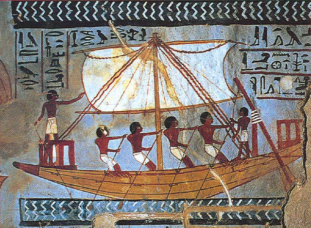 Egyptian boat