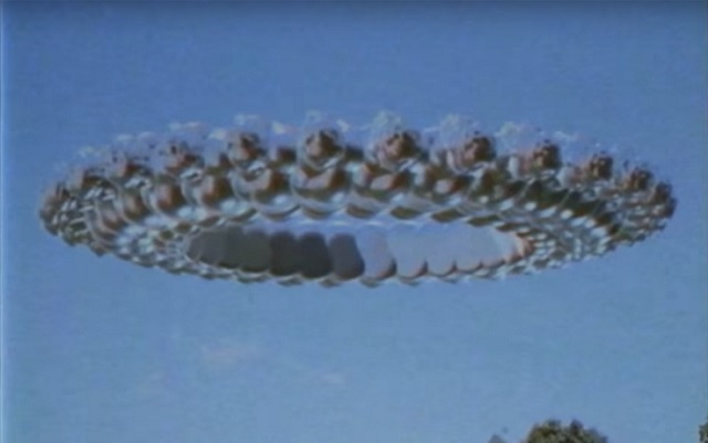 UFO VHS footage found 2017 ring zoomed