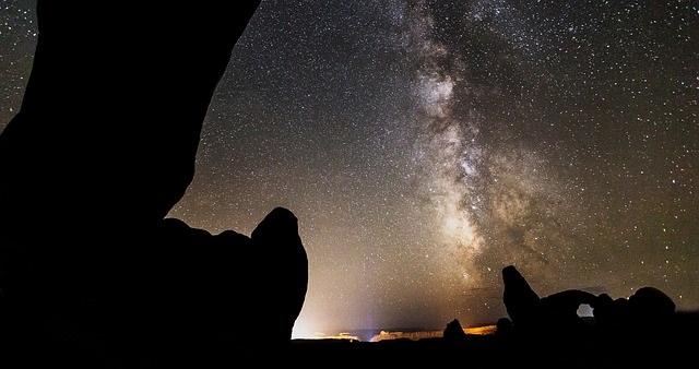 Utah at night