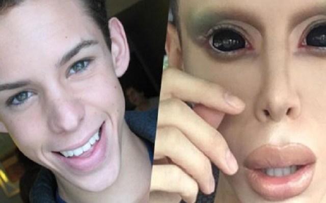 Vinny Ohh becomes Alien