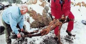 Ötzi corpse found