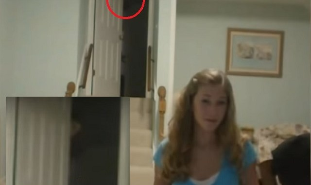 August 16 2010 ghost behind girl on blue ball