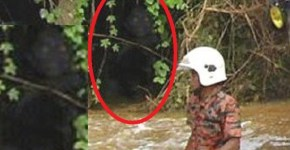 Ghostly demonic presence at Malaysian bus accident