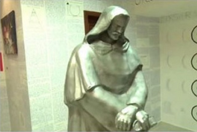 Giordano Bruno statue Bruno Borges missing