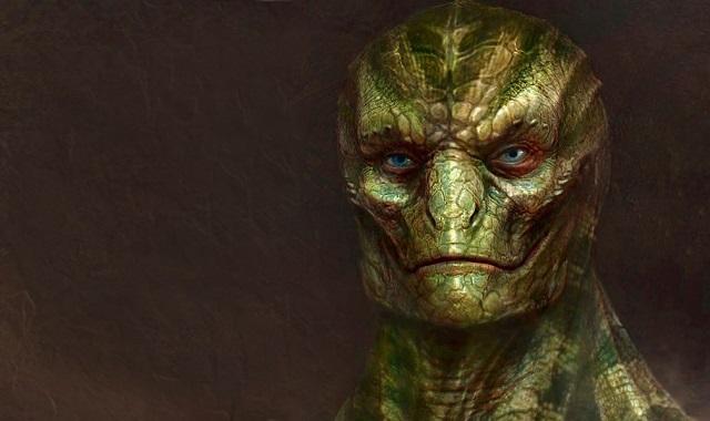 Reptilian male