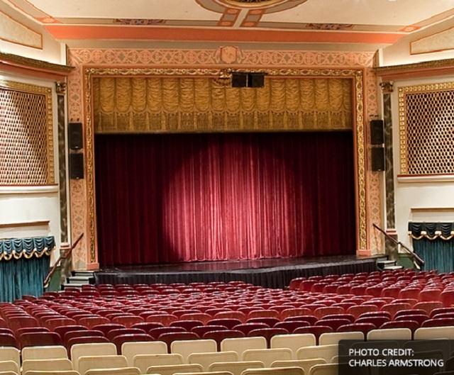 The Capitol Theatre PA auditorium