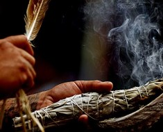 The art of smudging