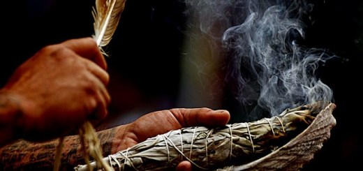 The sacred art of smudging