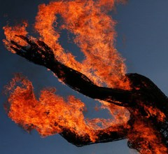 spontaneous human combustion lady