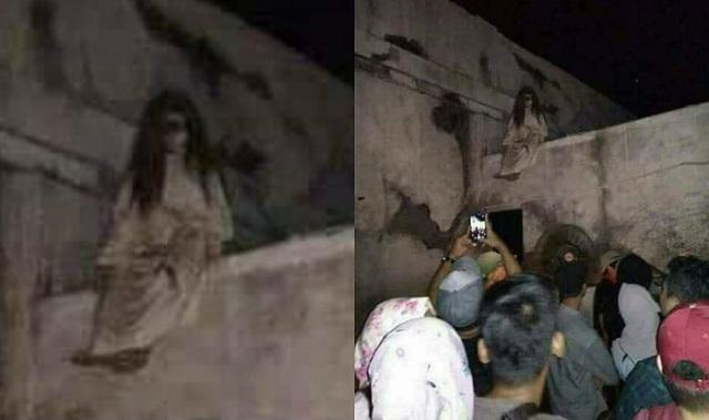 Le fantôme Banshee capturé devant la caméra en Inde