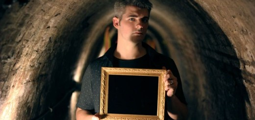 Mysterious dark mirror becomes part of traveling paranormal museum