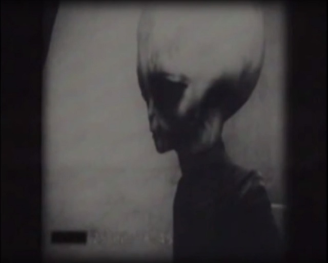 Grey alien footage from Russia
