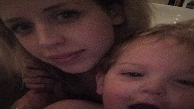 Peaches Geldof ghostly photo