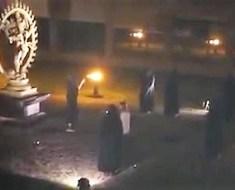 Sacrifice filmed at CERN
