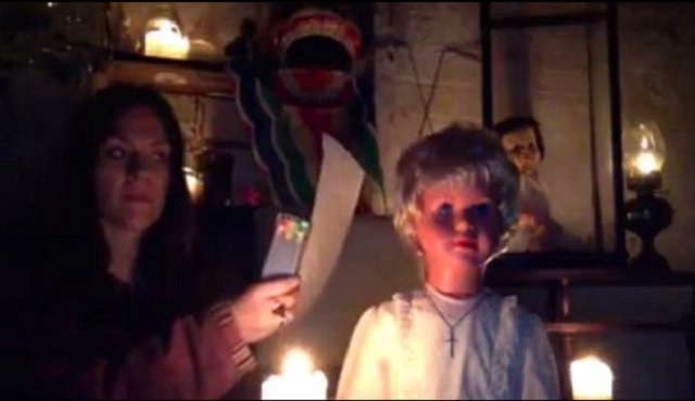 The possessed haunted doll Peggy