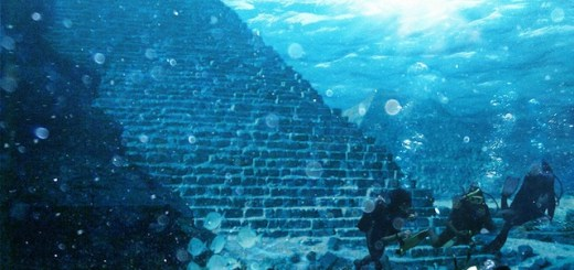 Large pyramids found point towards the Lost City of Atlantis