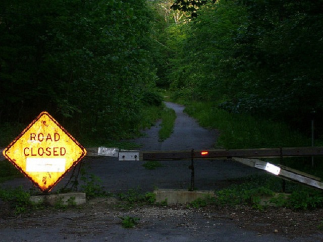 Helltown Ohio road closed