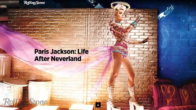 Paris Jackson Rolling Stone photo shoot