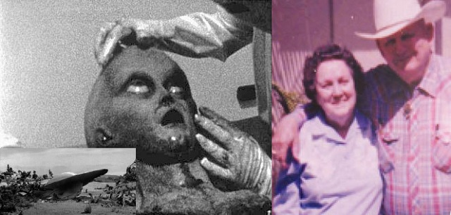 Roswell crash Charles Forgus and wife