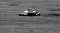 UFO on Mars surface 2017