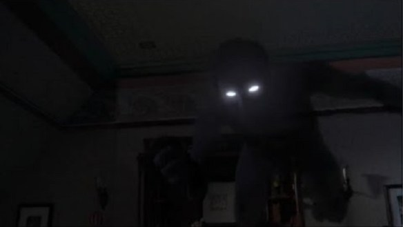 Shadow fiend at night