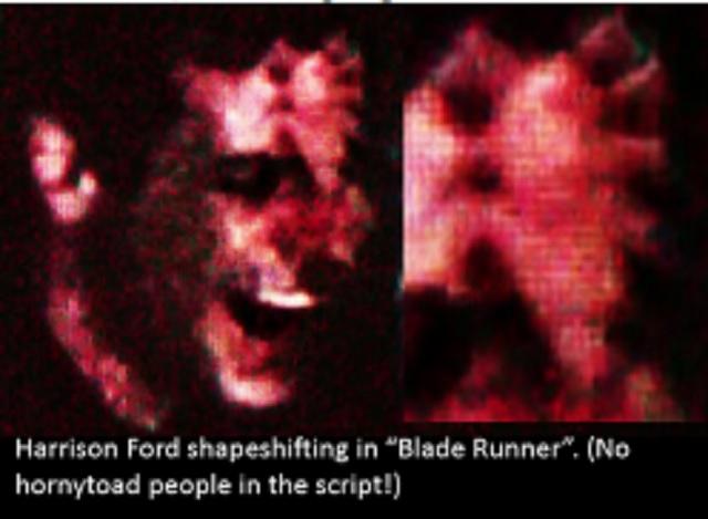 Harrison Ford shapeshifting