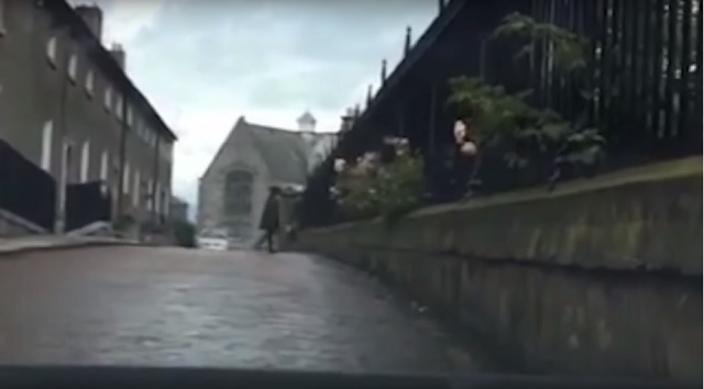Irish ghost dash camera
