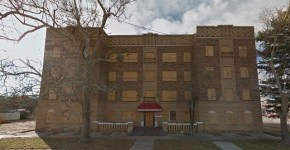 Amarillo Texas haunted apartment building