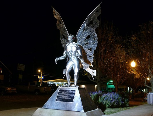 Mothman Point Pleasant West Virginia