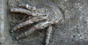 Egyptian giant hands found