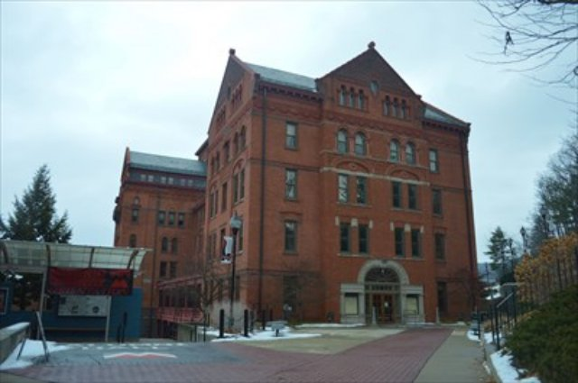 Mansfield Pennsylvania haunted library
