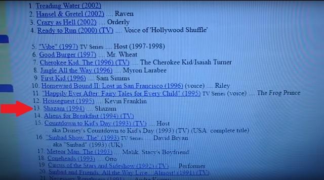 Sinbad credit Shazam 1994