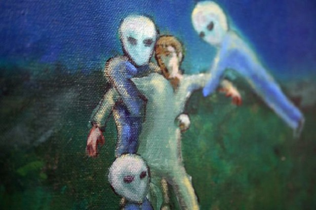 Alien abduction of David Huggins